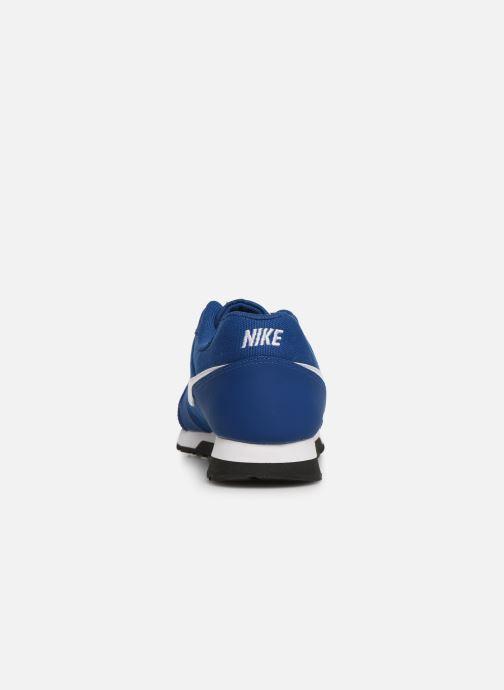 Deportivas Nike Nike Md Runner 2 (Gs) Azul vista lateral derecha