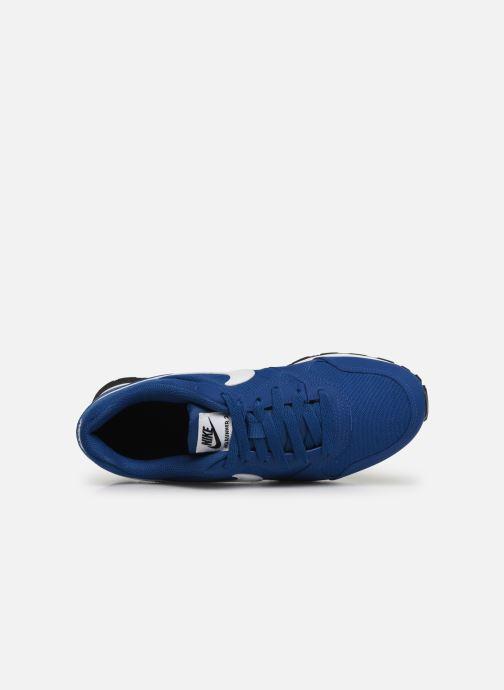 Deportivas Nike Nike Md Runner 2 (Gs) Azul vista lateral izquierda