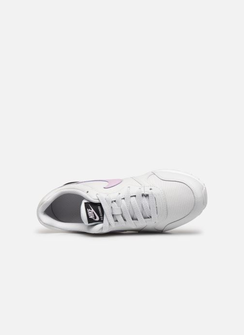 Baskets Nike Nike Md Runner 2 (Gs) Blanc vue gauche