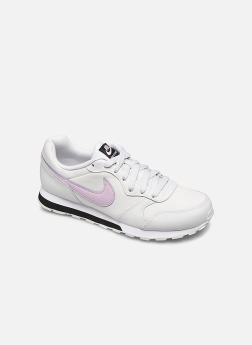Baskets Nike Nike Md Runner 2 (Gs) Blanc vue détail/paire