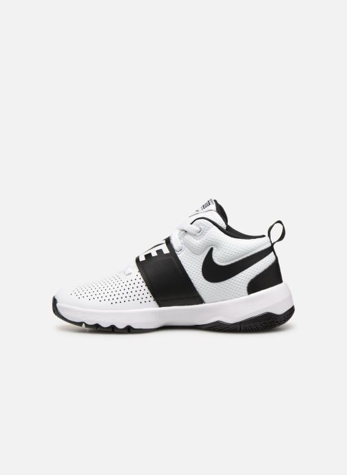 reputable site 4f224 05094 Baskets Nike Nike Team Hustle D 8 (Gs) Blanc vue face