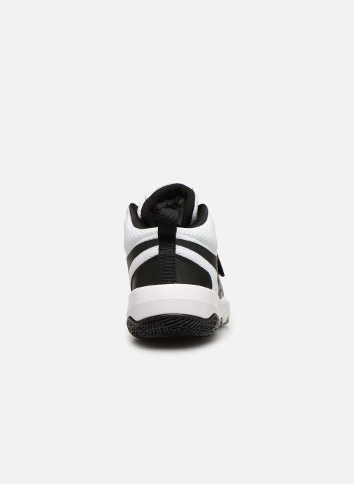 Sneaker Nike Nike Team Hustle D 8 (Gs) weiß ansicht von rechts