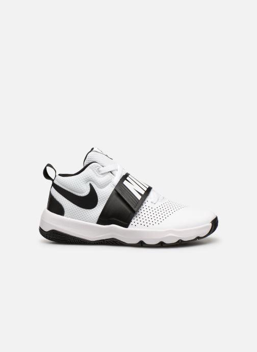 Sneaker Nike Nike Team Hustle D 8 (Gs) weiß ansicht von hinten