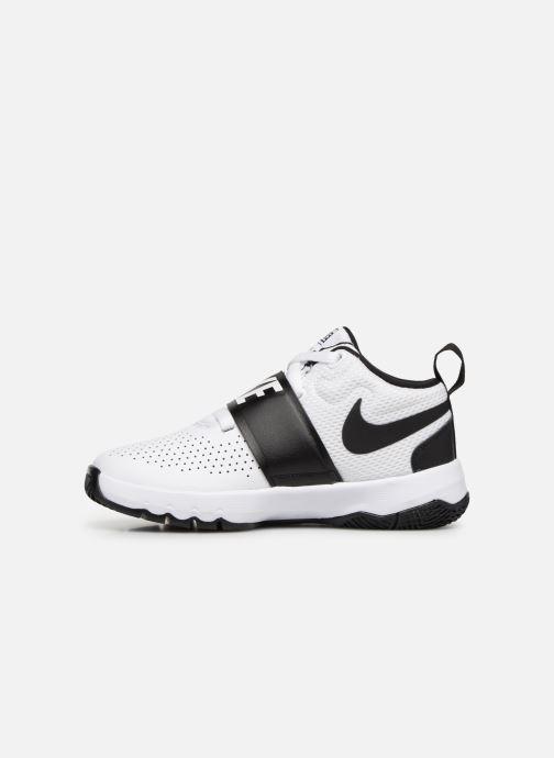 Sneaker Nike Nike Team Hustle D 8 (Ps) weiß ansicht von vorne