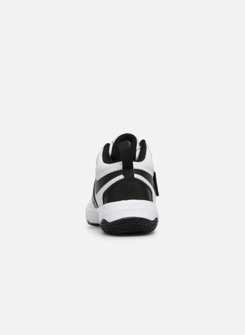 Sneaker Nike Nike Team Hustle D 8 (Ps) weiß ansicht von rechts