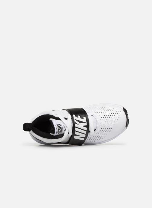 Sneaker Nike Nike Team Hustle D 8 (Ps) weiß ansicht von hinten