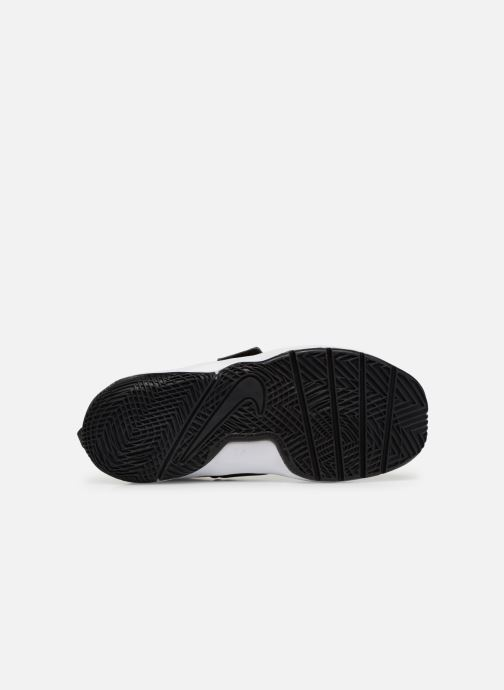 buy online 28236 fa7ab Baskets Nike Nike Team Hustle D 8 (Ps) Blanc vue haut