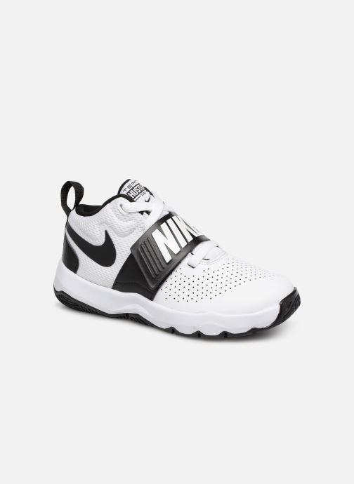 Sneaker Nike Nike Team Hustle D 8 (Ps) weiß detaillierte ansicht/modell
