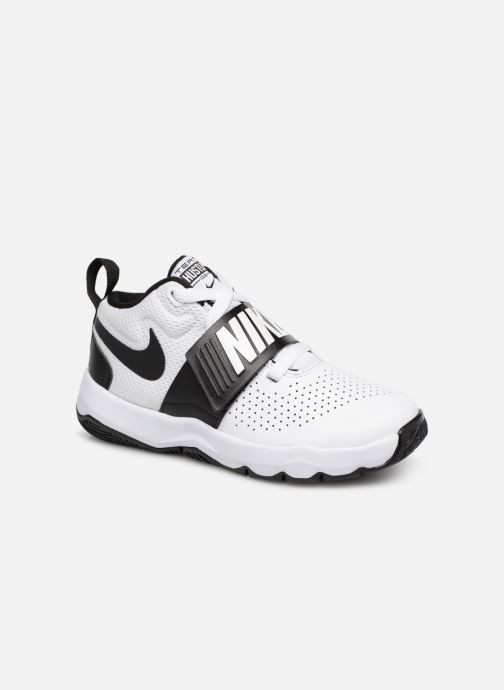 super popular 77a77 fc1e1 Baskets Nike Nike Team Hustle D 8 (Ps) Blanc vue détailpaire