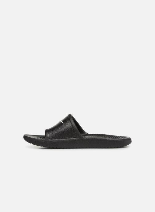 Sandales et nu-pieds Nike Nike Kawa Shower (GsPs) Noir vue face