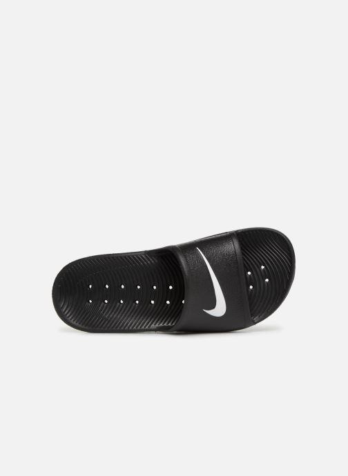 Sandales et nu-pieds Nike Nike Kawa Shower (GsPs) Noir vue gauche