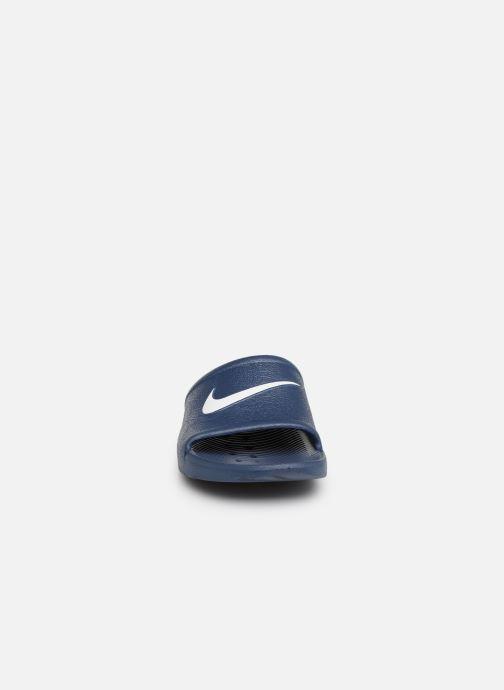 Sandales et nu-pieds Nike Nike Kawa Shower (GsPs) Bleu vue portées chaussures