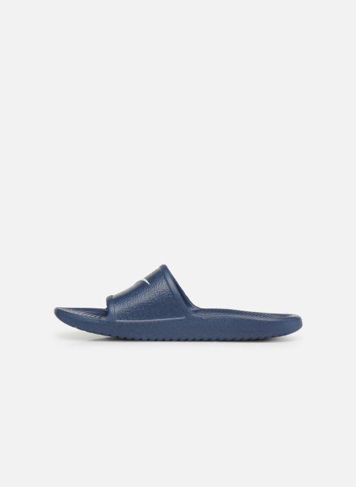 Sandales et nu-pieds Nike Nike Kawa Shower (GsPs) Bleu vue face