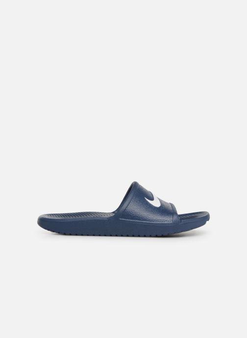 Sandales et nu-pieds Nike Nike Kawa Shower (GsPs) Bleu vue derrière