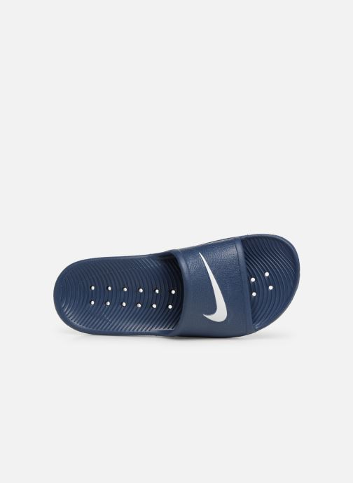 Sandalias Nike Nike Kawa Shower (GsPs) Azul vista lateral izquierda