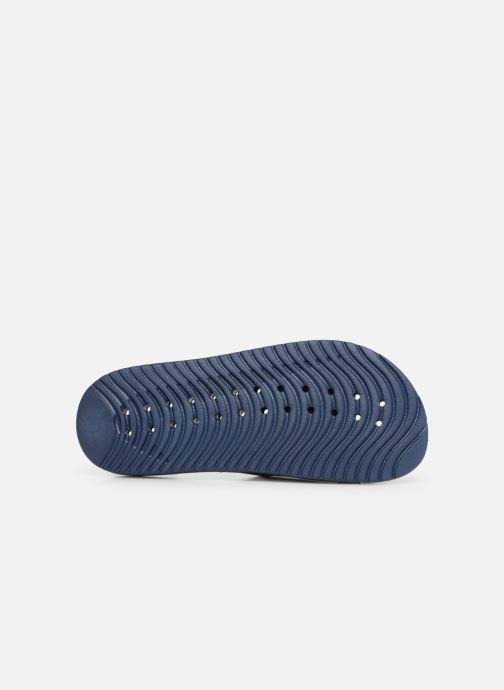 Sandales et nu-pieds Nike Nike Kawa Shower (GsPs) Bleu vue haut