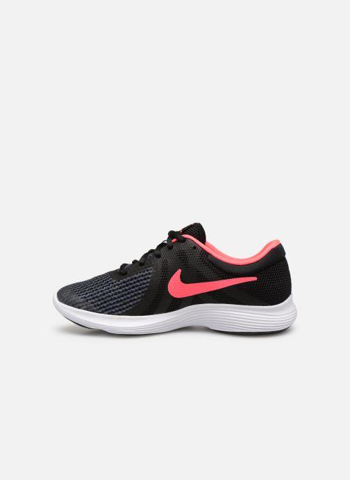 Deportivas Nike Nike Revolution 4 (Gs) Negro vista de frente