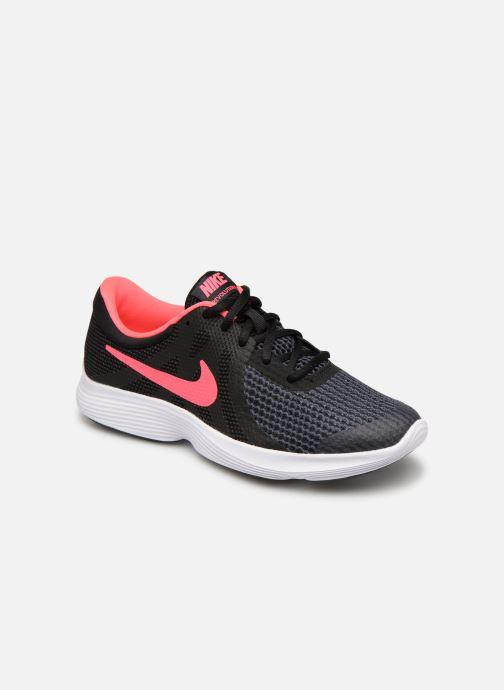Deportivas Nike Nike Revolution 4 (Gs) Negro vista de detalle / par