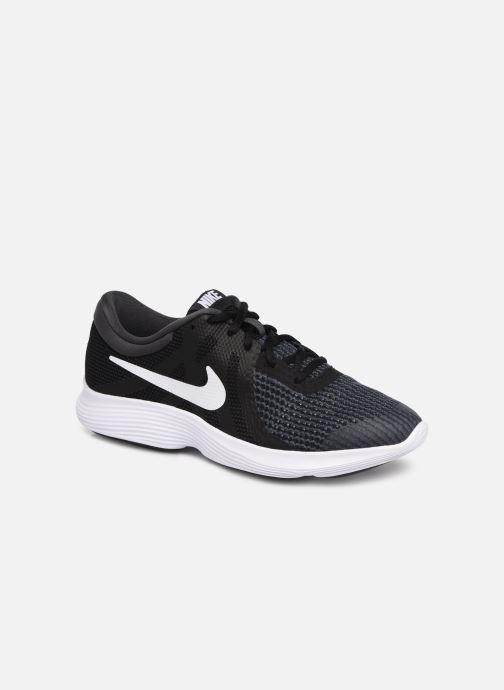 5eacfb5d6625 Sneakers Nike Nike Revolution 4 (Gs) Sort detaljeret billede af skoene