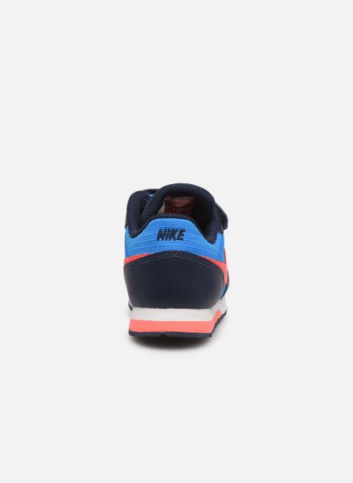 Deportivas Nike Nike Md Runner 2 (Tdv) Azul vista lateral derecha