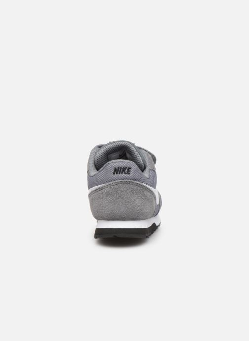 Trainers Nike Nike Md Runner 2 (Tdv) Grey view from the right