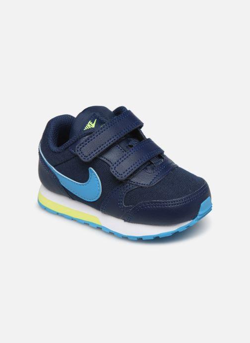 Deportivas Nike Nike Md Runner 2 (Tdv) Azul vista de detalle / par