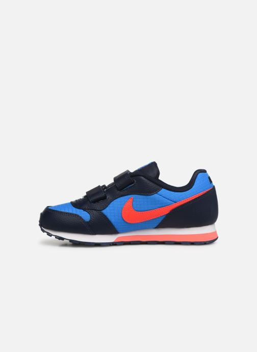 Baskets Nike Nike Md Runner 2 (Psv) Bleu vue face