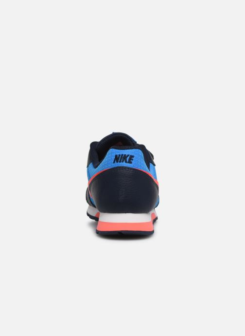 Trainers Nike Nike Md Runner 2 (Psv) Blue view from the right