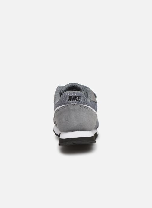 Deportivas Nike Nike Md Runner 2 (Psv) Gris vista lateral derecha