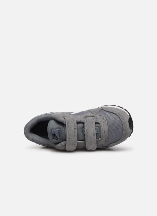 Deportivas Nike Nike Md Runner 2 (Psv) Gris vista lateral izquierda