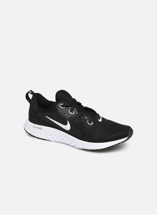 Sportssko Nike Nike Legend React (Gs) Sort detaljeret billede af skoene