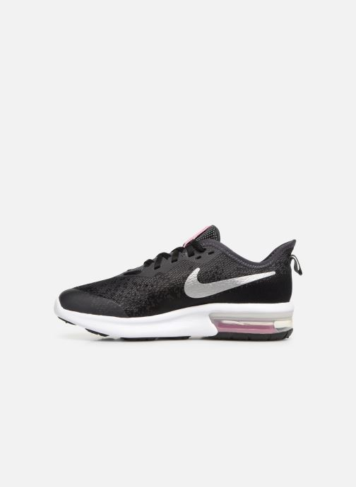 Sportschoenen Nike Nike Air Max Sequent 4 (Gs) Zwart voorkant