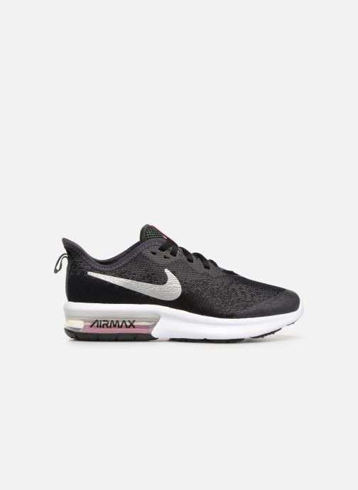 Sportschoenen Nike Nike Air Max Sequent 4 (Gs) Zwart achterkant
