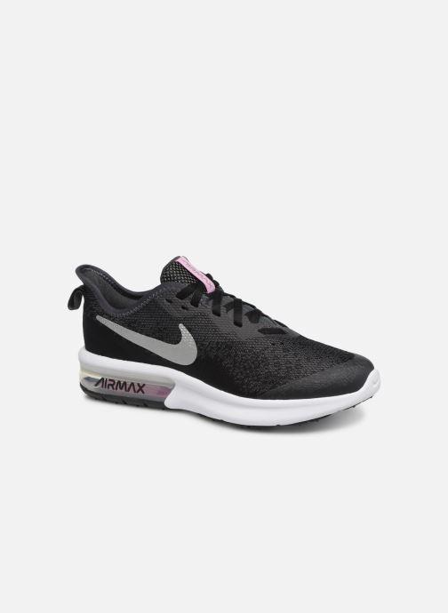 Sportschoenen Nike Nike Air Max Sequent 4 (Gs) Zwart detail