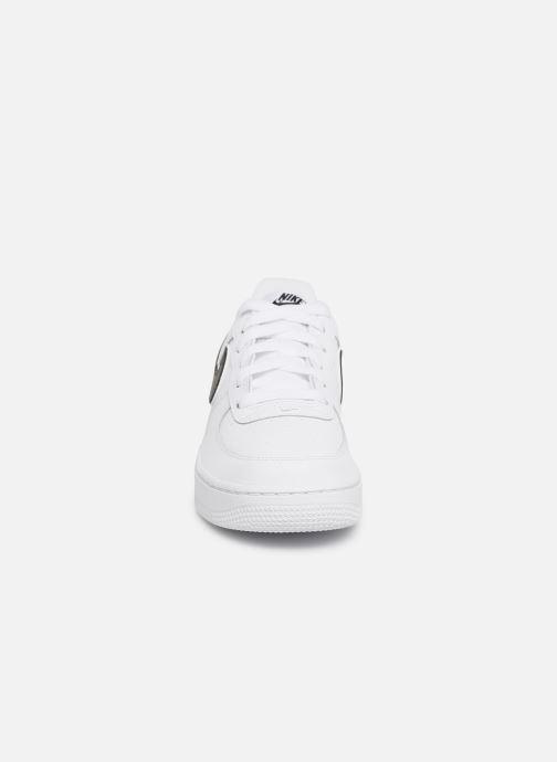Sneakers Nike Air Force 1-3 (Gs) Hvid se skoene på