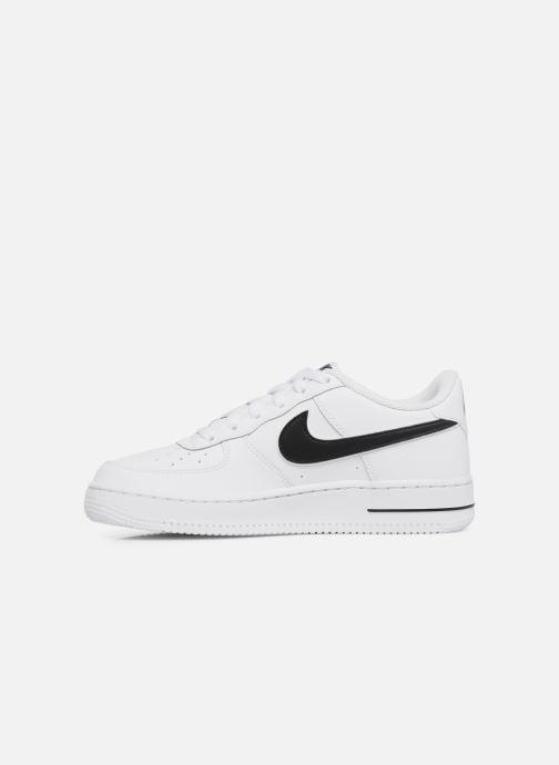 Sneakers Nike Air Force 1-3 (Gs) Hvid se forfra