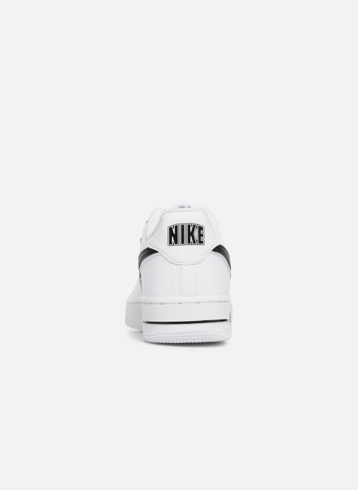 Sneakers Nike Air Force 1-3 (Gs) Vit Bild från höger sidan