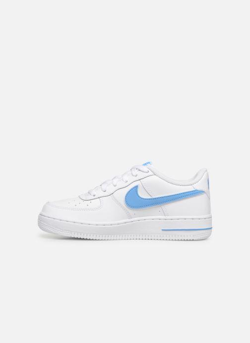 Baskets Nike Air Force 1-3 (Gs) Blanc vue face