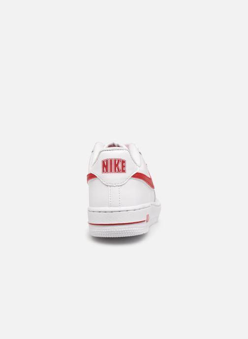 Sneaker Nike Air Force 1-3 (Gs) weiß ansicht von rechts