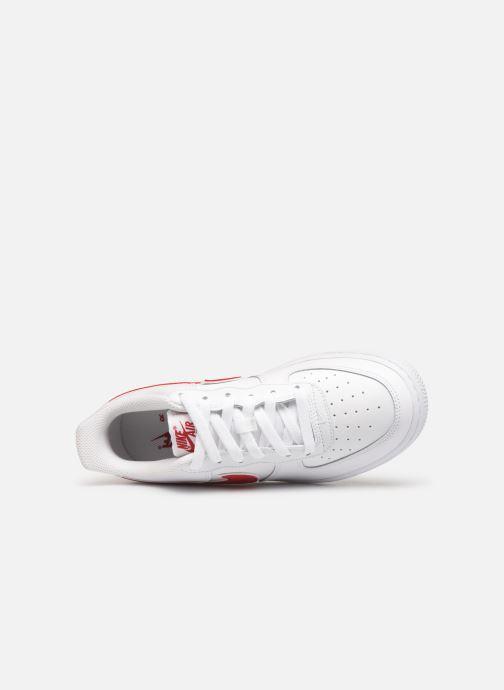 Sneaker Nike Air Force 1-3 (Gs) weiß ansicht von links