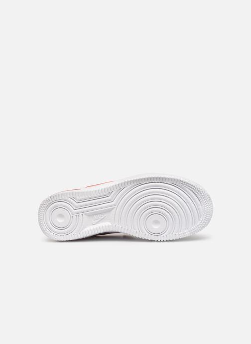 Baskets Nike Air Force 1-3 (Gs) Blanc vue haut