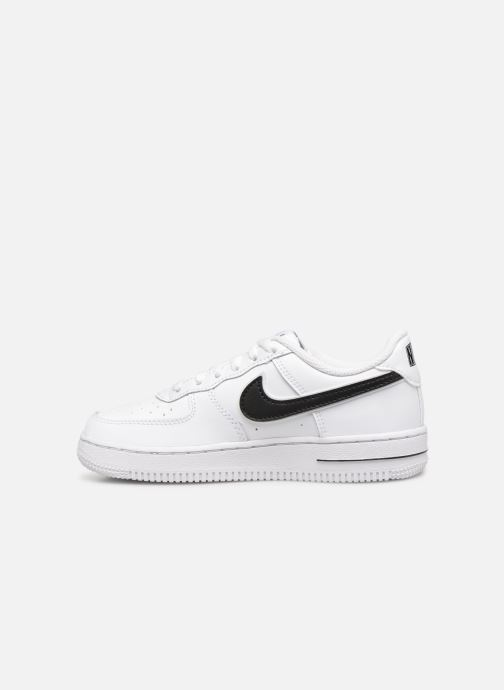 Deportivas Nike Force 1-3 (Ps) Blanco vista de frente