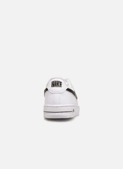 Deportivas Nike Force 1-3 (Ps) Blanco vista lateral derecha