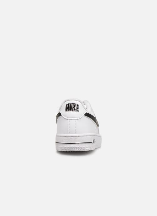 Trainers Nike Force 1-3 (Ps) White view from the right