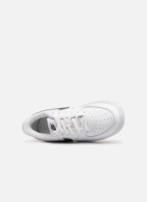 Sneaker Nike Force 1-3 (Ps) weiß ansicht von links
