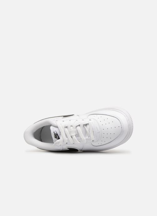 Trainers Nike Force 1-3 (Ps) White view from the left