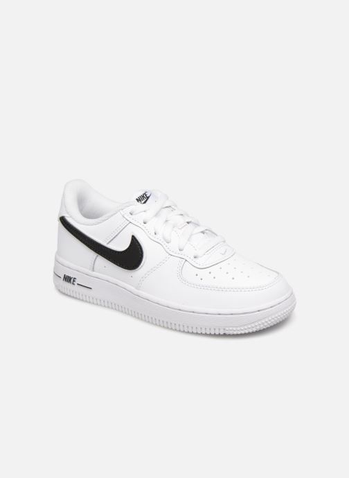 Trainers Nike Force 1-3 (Ps) White detailed view/ Pair view
