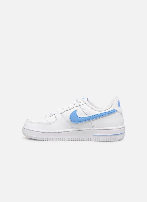 Baskets Nike Force 1-3 (Ps) Blanc vue face
