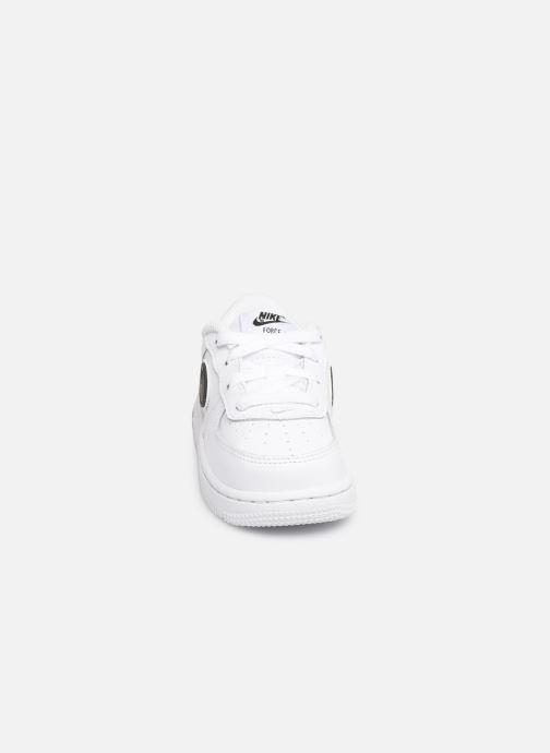 Sneaker Nike Force 1-3 (Td) weiß schuhe getragen