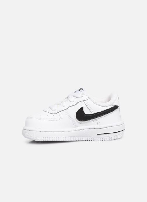 Baskets Nike Force 1-3 (Td) Blanc vue face